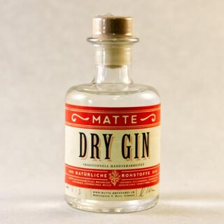 Matte Dry Gin 2dl