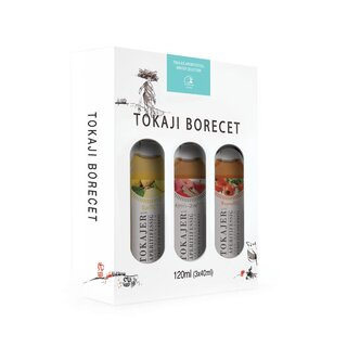 Tokajer Aperitifessig- Winter-Selektion | 3 x 40 ml