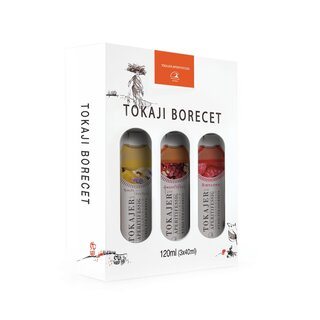 Tokajer Aperitifessig - Selektion | 3 x 40 ml